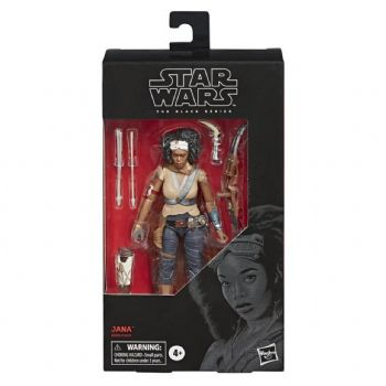Star Wars The Black Series Rise of Skywalker Jana Action Figure